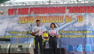 Perayaan HUT SMK Penerbangan Angkasa.