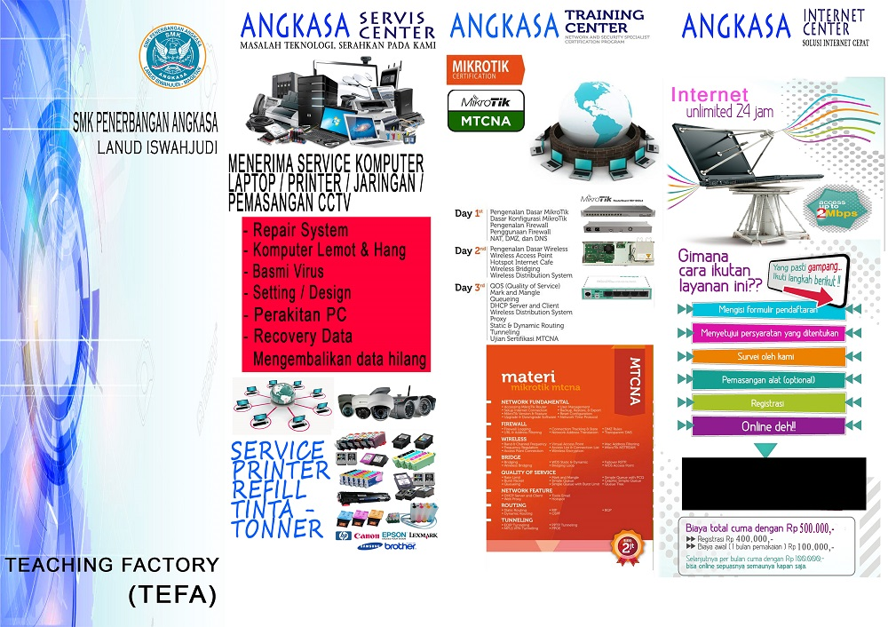 brosur web