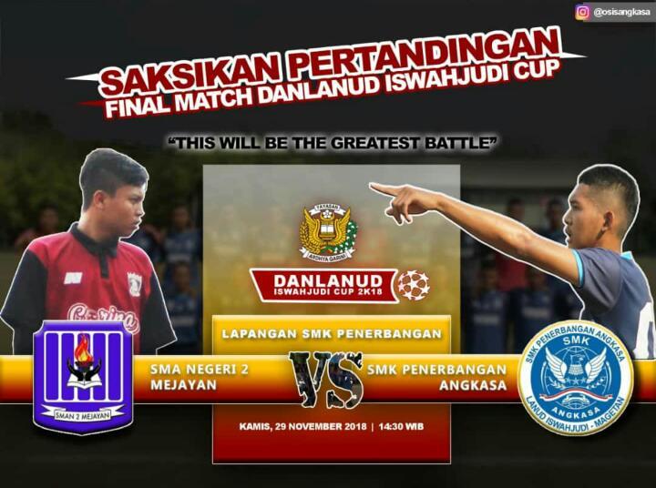 Final Danlanud Cup 2018